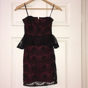 Strapless Lace Urban Outfitters Dress